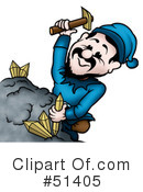 Royalty-Free (RF) Mining Clipart Illustration #51405