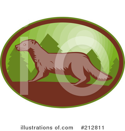 Weasel Clipart #212811 by patrimonio