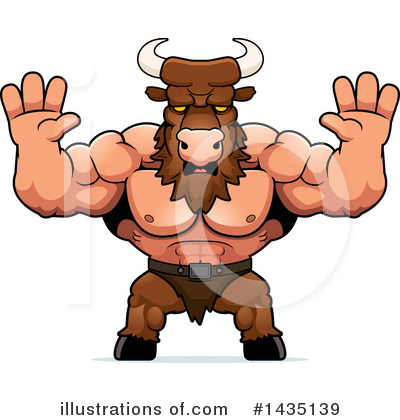 Minotaur Clipart #1435139 by Cory Thoman