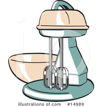 Royalty-Free (RF) Mixer Clipart Illustration by Andy Nortnik - Stock Sample #14989