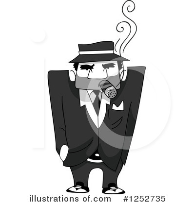 Mobster Clipart #1252735 by BNP Design Studio