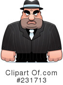 Mobster Clipart #231713 by Cory Thoman