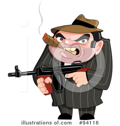 Mobster Clipart #94116 by yayayoyo