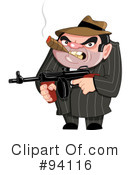 Mobster Clipart #94116