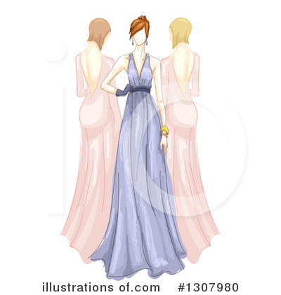 Dress Clipart #1307980 by BNP Design Studio