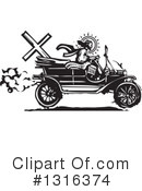 Royalty-Free (RF) Model T Clipart Illustration #1316374
