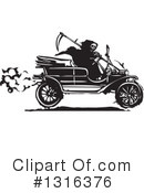Royalty-Free (RF) Model T Clipart Illustration #1316376