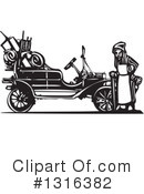 Royalty-Free (RF) Model T Clipart Illustration #1316382