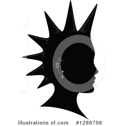 Royalty-Free (RF) Mohawk Clipart Illustration by BNP Design Studio - Stock Sample #1286706