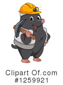 Mole Clipart #1259921 by BNP Design Studio