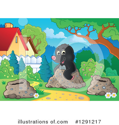 Mole Clipart #1291217 by visekart