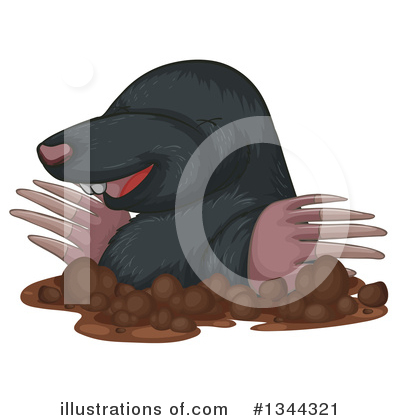 Mole Clipart #1344321 by Graphics RF