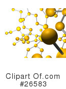 Royalty-Free (RF) molecules Clipart Illustration #26583