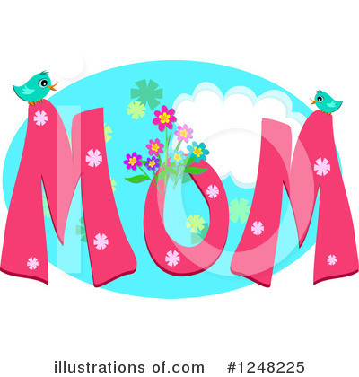 Mothers Day Clipart #1248225 by bpearth