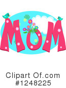 Royalty-Free (RF) Mom Clipart Illustration #1248225