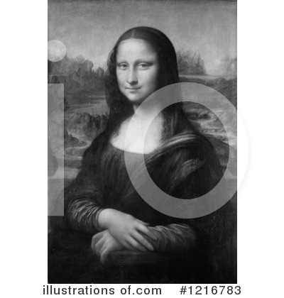Mona Lisa Clipart #1216783 by Picsburg