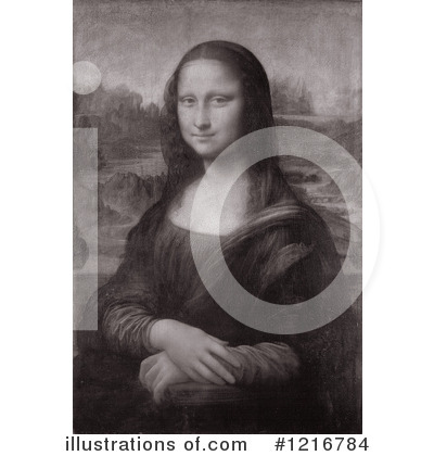 Mona Lisa Clipart #1216784 by Picsburg