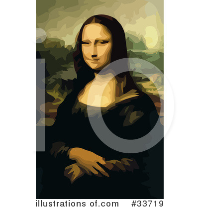 Mona Lisa Clipart #33719 by JVPD