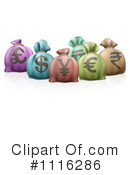 Money Bags Clipart #1116286