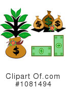 Royalty-Free (RF) Money Clipart Illustration #1081494