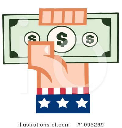 Finance Clipart #1095269 by Hit Toon