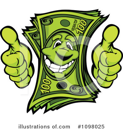 Money Clipart #1098025 by Chromaco