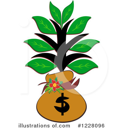 Money Tree Clipart #1228096 by bpearth