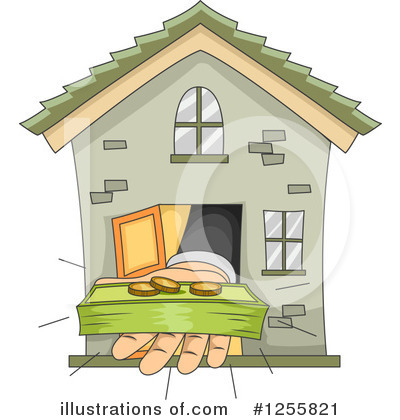 House Clipart #1255821 by BNP Design Studio
