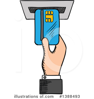 Credit Card Clipart #1388493 by Vector Tradition SM