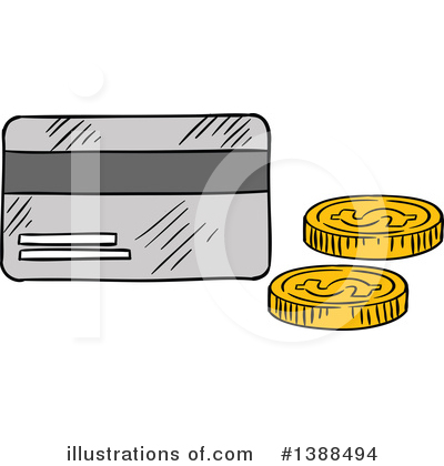 Royalty-Free (RF) Money Clipart Illustration by Vector Tradition SM - Stock Sample #1388494