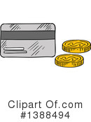 Royalty-Free (RF) Money Clipart Illustration #1388494