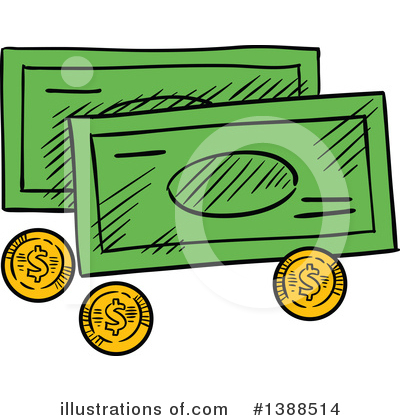 Money Clipart #1388514 by Vector Tradition SM