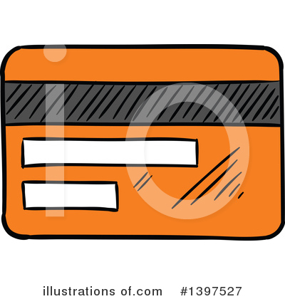 Credit Card Clipart #1397527 by Vector Tradition SM