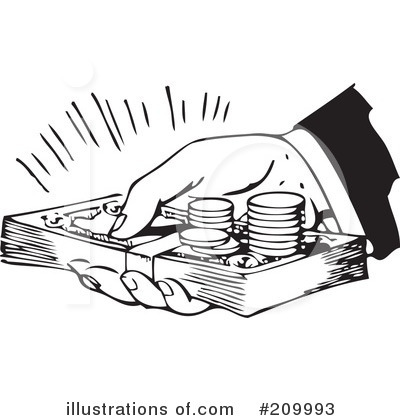 More Clip Art Illustrations of Money