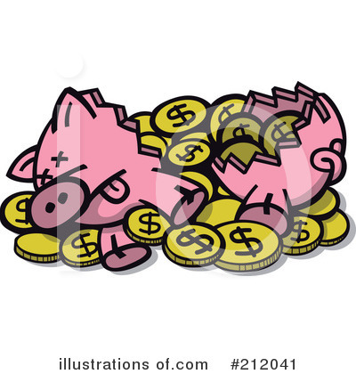 Pig Clipart #212041 by Zooco