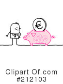 Royalty-Free (RF) money Clipart Illustration #212103