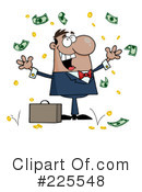Royalty-Free (RF) Money Clipart Illustration #225548