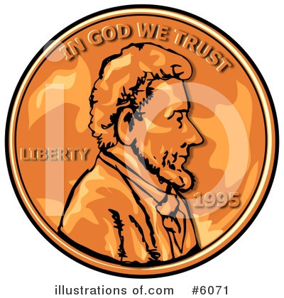 Abraham Lincoln Clipart #6071 by djart