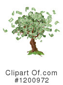 Money Tree Clipart #1200972