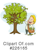 Royalty-Free (RF) Money Tree Clipart Illustration #226165