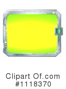 Royalty-Free (RF) Monitor Clipart Illustration #1118370