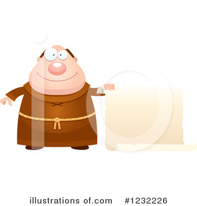 Monk Clipart #1232226 by Cory Thoman