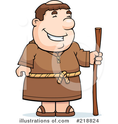Monk Clipart #218824 by Cory Thoman