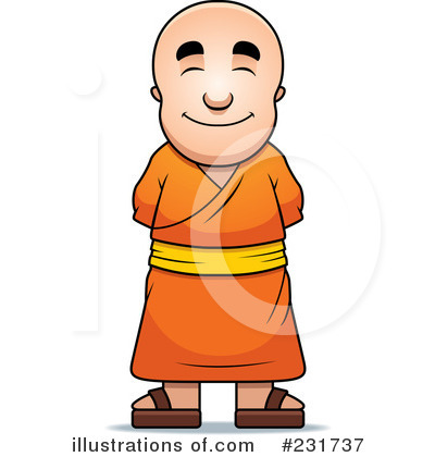 Monk Clipart #231737 by Cory Thoman