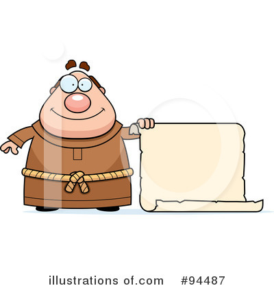 Monk Clipart #94487 by Cory Thoman