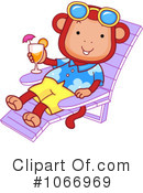 Monkey Clipart #1066969 by BNP Design Studio