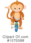 Royalty-Free (RF) Monkey Clipart Illustration #1070088