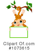 Royalty-Free (RF) Monkey Clipart Illustration #1073615
