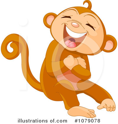 Primate Clipart #1079078 by Pushkin