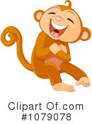 Royalty-Free (RF) Monkey Clipart Illustration #1079078